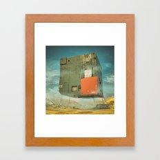 SQUARE ONE (everyday 01.01.16) Framed Art Print