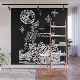 A Midnight Happening Wall Mural