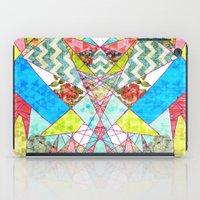 quilt iPad Cases featuring Geometric Quilt by Sandra Arduini