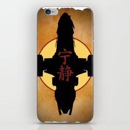 Minimalist Firefly Poster iPhone Skin