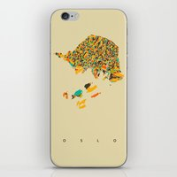 oslo iPhone & iPod Skins featuring Oslo  by Nicksman