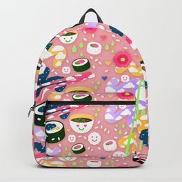 Chopstick Rice Party  Backpack
