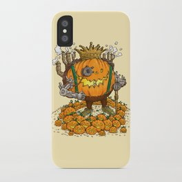 The Steampunk Pumpking iPhone Case