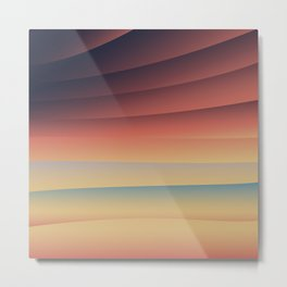 Sunset Thrills Metal Print