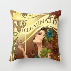 Iluminate Throw Pillow