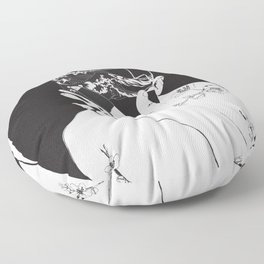 frank ocean's blond\blonde Floor Pillow