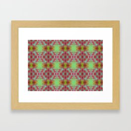 Flower blast Framed Art Print