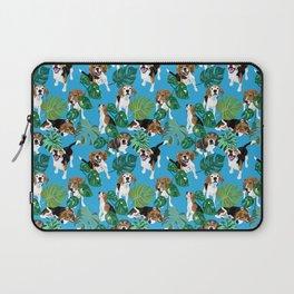 beagle tropical Laptop Sleeve