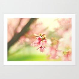 Happy Spring! Art Print
