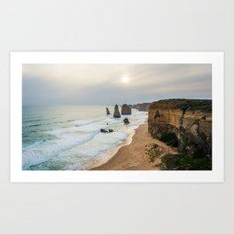 The Great Ocean Road. Art Print