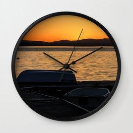 Lake Champlain Wall Clock