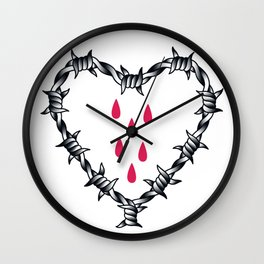 Love you (variation 04) Wall Clock