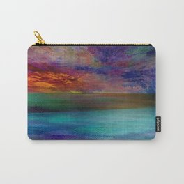 Ocean at Sunset Carry-All Pouch