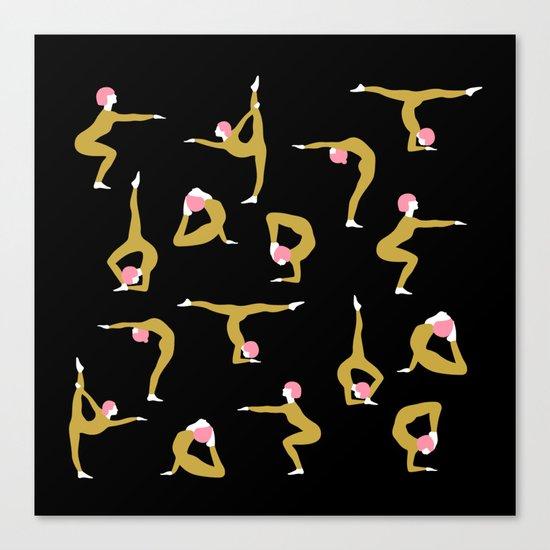 Yoga All Day Canvas Print