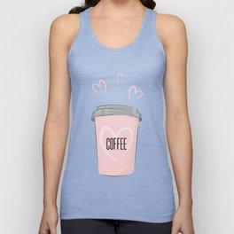Coffee is my love Unisex Tank Top