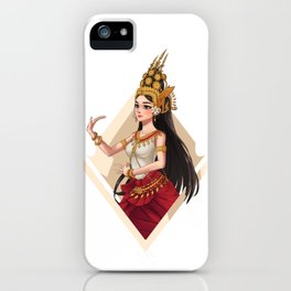 Apsara Dancer iPhone Case