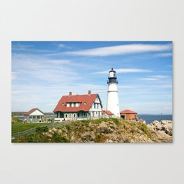 Canadian Lighthouse Canvas Print