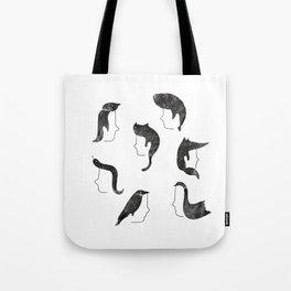 Hairnimals Tote Bag