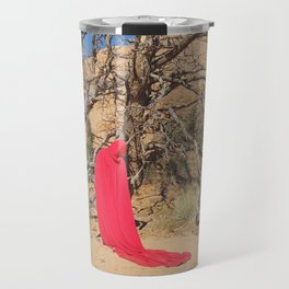 Portrait in Red | Arches V Travel Mug