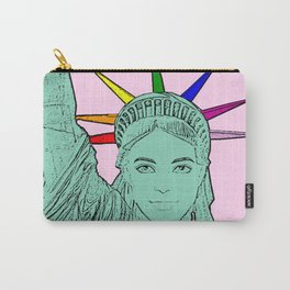 The U.S of Gay! Ken Morphed Into The Statue of Liberty Carry-All Pouch