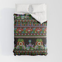Hungarian embroidery pattern Comforters