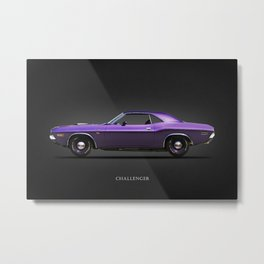 The Challenger Metal Print