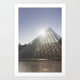 The Louvre II Art Print