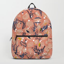 Under the sea blush– beauty of our oceans Backpack