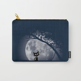 Moon Kat Carry-All Pouch