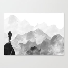 Top of the Mountain Canvas Print