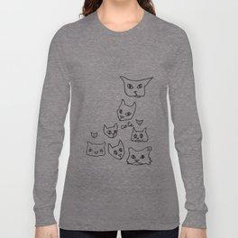 Cats Cat Long Sleeve T-shirt