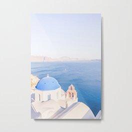469. Best Photography Spot, Santorini, Greece Metal Print