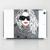 chic iPad Cases featuring CHIC by The Curly Whirl Girly.