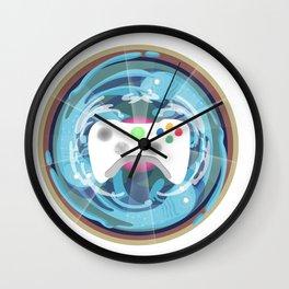 Heaven Mandala - God bless the pad Wall Clock