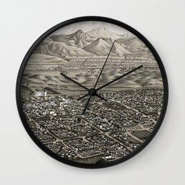 Colorado Springs - Colorado - 1882 Wall Clock