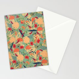 Flower Pattern Stationery Cards