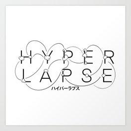 hyperlapse Art Print
