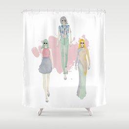 Fashionary 7 Shower Curtain