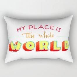 The whole world Rectangular Pillow