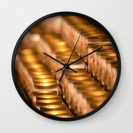 Light Inside Wall Clock