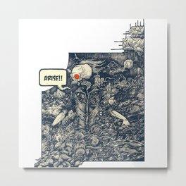 Sekutu debu Metal Print