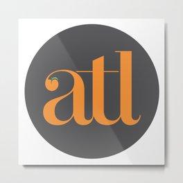 ATL Metal Print