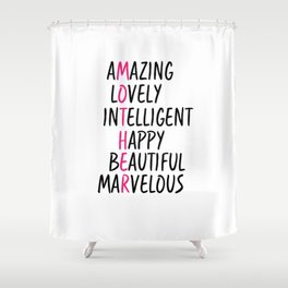 Mother Day Shower Curtain