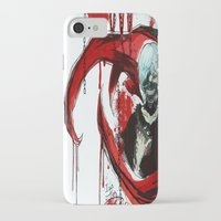 tokyo ghoul iPhone & iPod Cases featuring Tokyo Ghoul - Kaneki Ken by IzaPug