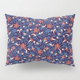 Moonlit Jungle Floral Pillow Sham