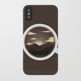 Every morning iPhone Case