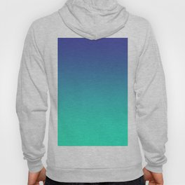 LUSH COVE - Minimal Plain Soft Mood Color Blend Prints Hoody