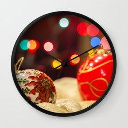 Ornaments 2 Wall Clock