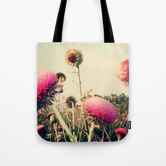 Flower World! Tote Bag