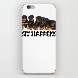 Sit Happens iPhone Skin